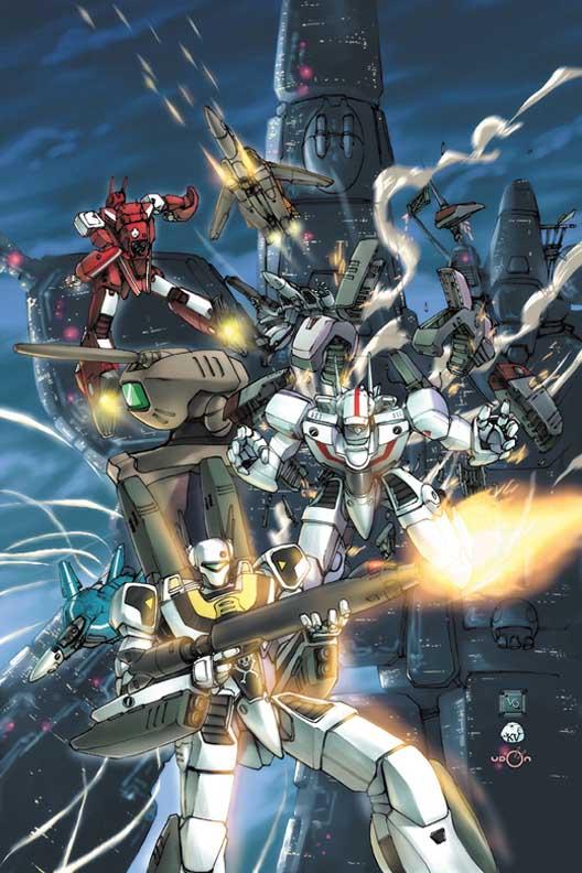 Wallpaper nggeladra robotech tv series - Wallpapers robotech 3d ...