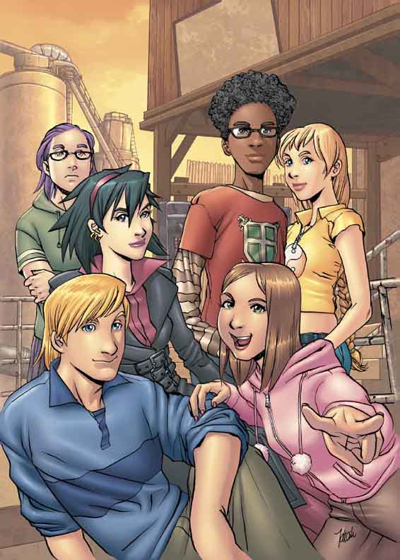 Cover to RUNAWAYS #11 (as seen in online solicitations)