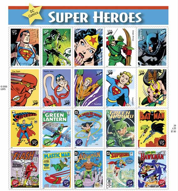 Sammlerforennet Comics Auf Europäischen Briefmarken
