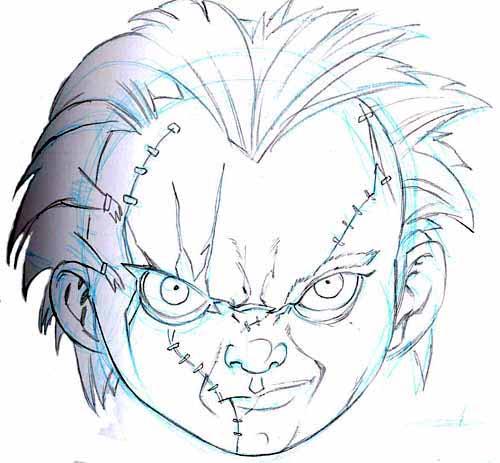 How To Draw Chuckie