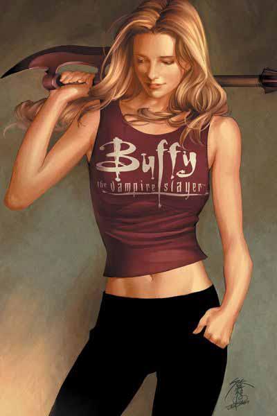 Buffy The Vampire Slayer: Season 8 [Dark Horse] Buffy1c