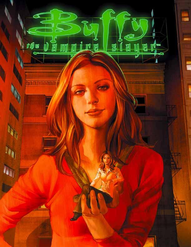 Buffy The Vampire Slayer: Season 8 [Dark Horse] Buffy4