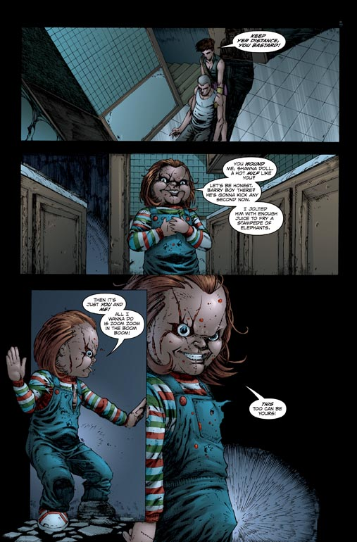 Comics Continuum: First Look -- Chucky #2