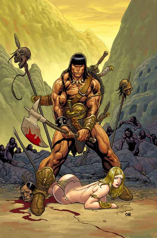 Conan The Cimmerian, Solomon Kane et Kull [Dark Horse] Conan1