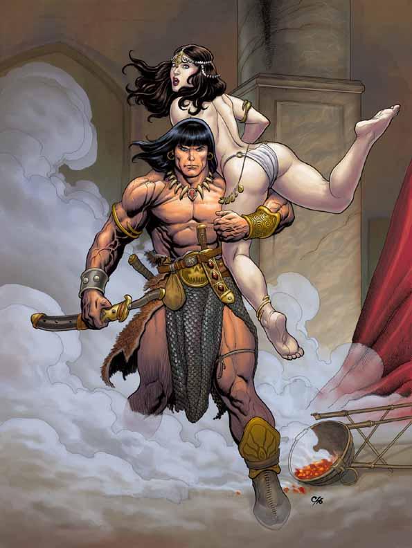 Conan The Cimmerian, Solomon Kane et Kull [Dark Horse] Conan2