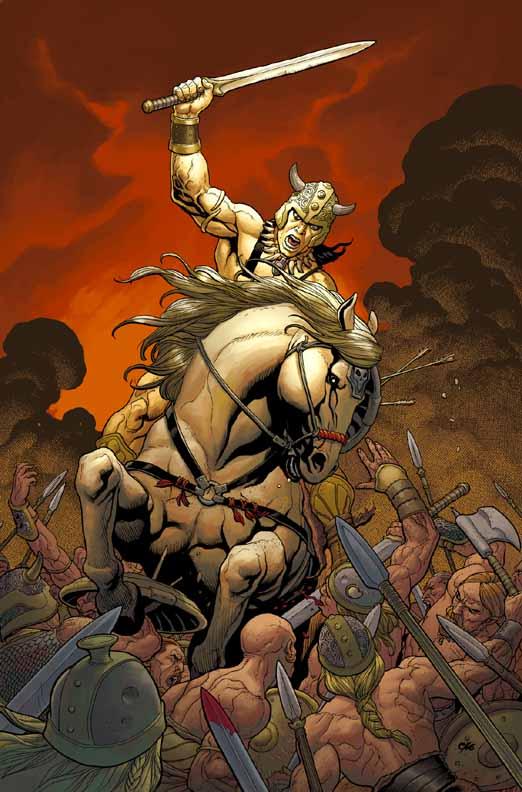 Conan The Cimmerian, Solomon Kane et Kull [Dark Horse] Conan3
