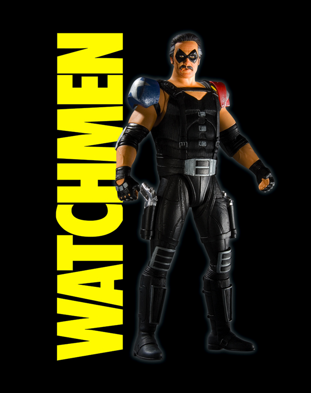 DC Direct movie Watchmen figures - Page 5 - The ... Watchmen Characters Silk Spectre