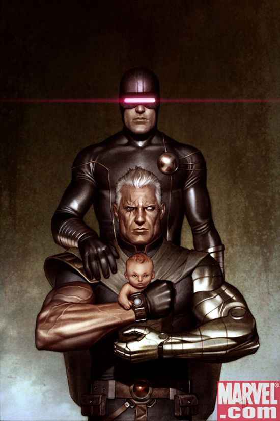 Cable X Men Days Of Future Past