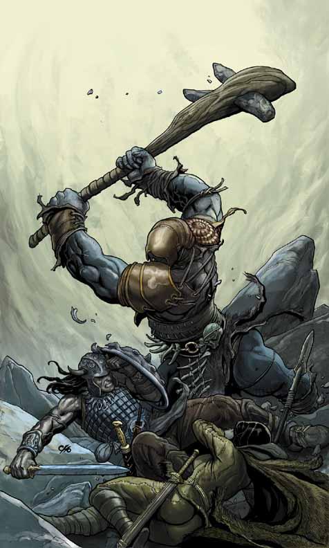Conan The Cimmerian, Solomon Kane et Kull [Dark Horse] Conan4