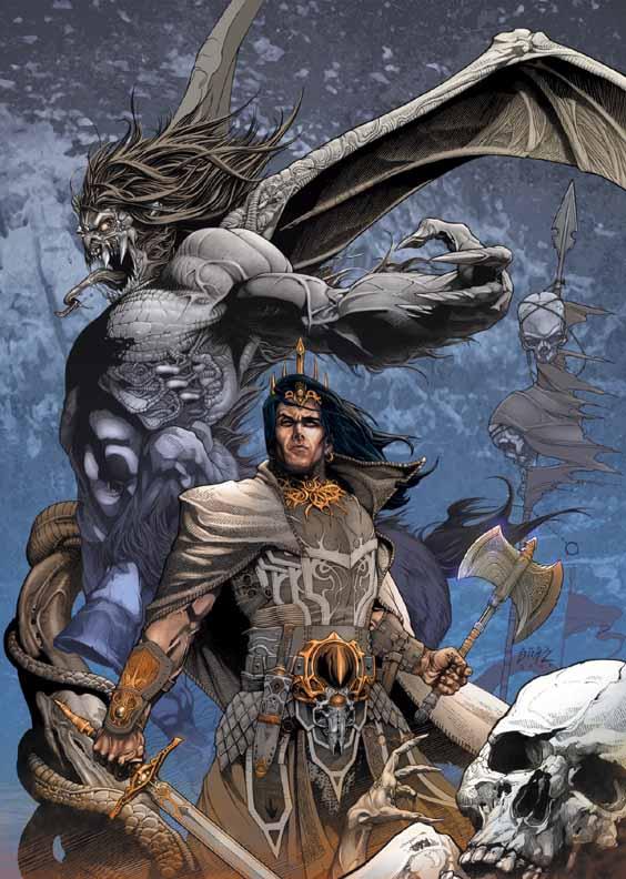 Conan The Cimmerian, Solomon Kane et Kull [Dark Horse] Kull1a