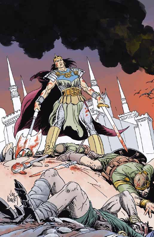 Conan The Cimmerian, Solomon Kane et Kull [Dark Horse] Kull1b
