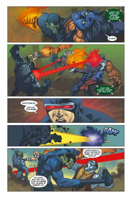 Preview de Secret Invasion: X-Men #2 Sixmen21