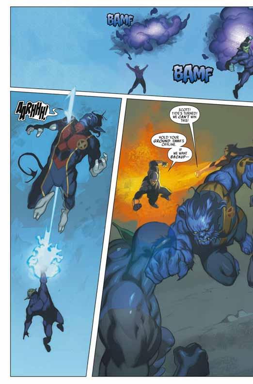 Preview de Secret Invasion: X-Men #2 Sixmen22
