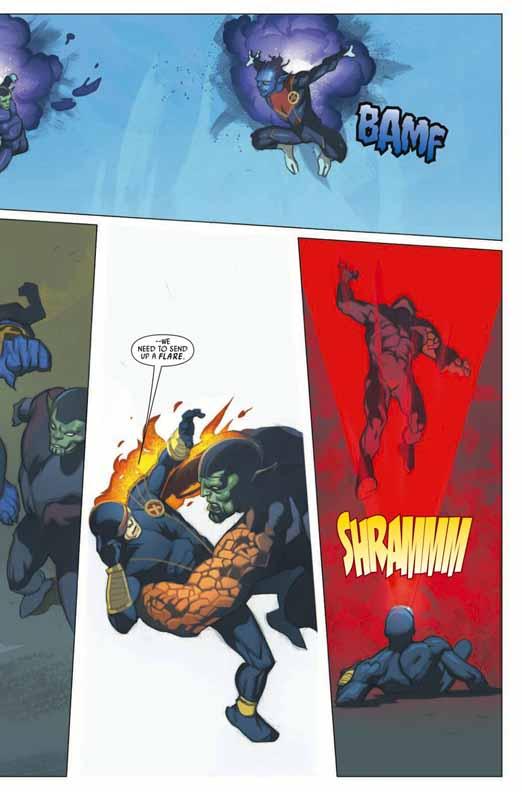 Preview de Secret Invasion: X-Men #2 Sixmen23