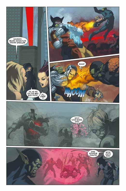 Preview de Secret Invasion: X-Men #2 Sixmen24