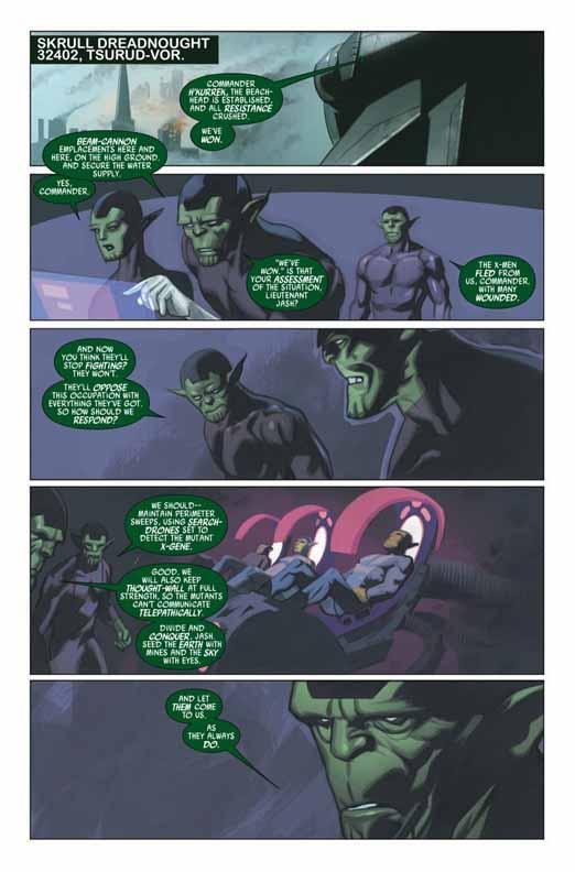 Preview de Secret Invasion: X-Men #2 Sixmen25