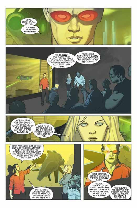 Preview de Secret Invasion: X-Men #2 Sixmen26