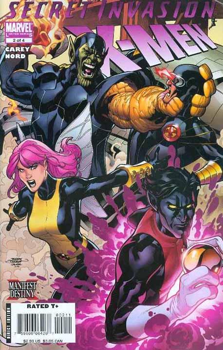 Preview de Secret Invasion: X-Men #2 Sixmen2c