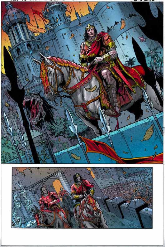 Conan The Cimmerian, Solomon Kane et Kull [Dark Horse] Kull2