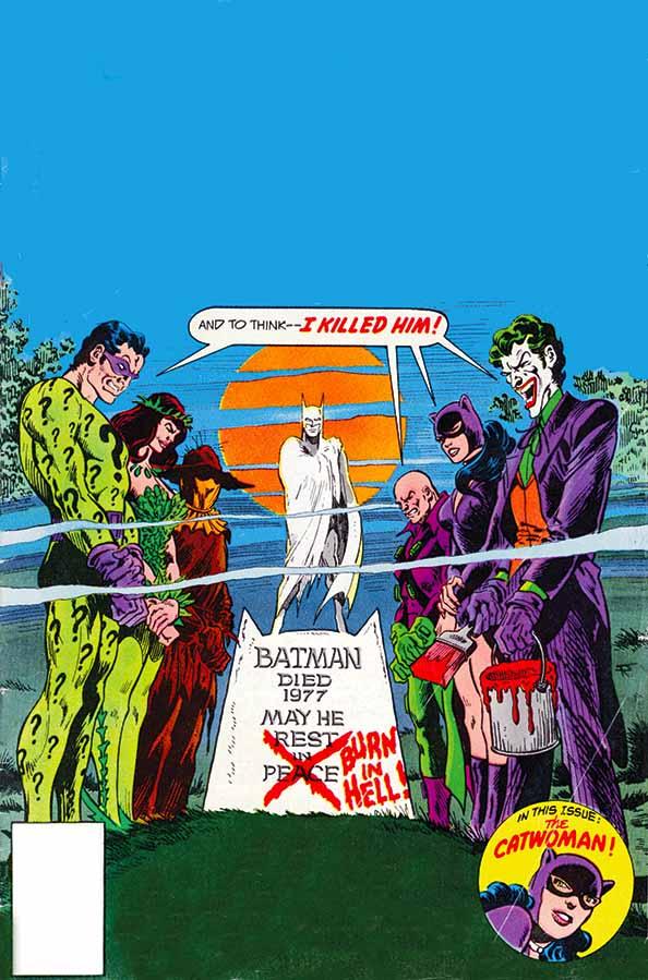 DC en diciembre Batmanstrangedeaths