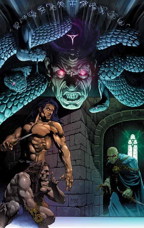 Conan The Cimmerian, Solomon Kane et Kull [Dark Horse] Kull3