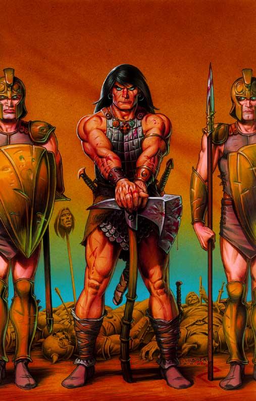 Conan The Cimmerian, Solomon Kane et Kull [Dark Horse] Conan8