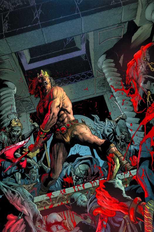 Conan The Cimmerian, Solomon Kane et Kull [Dark Horse] Kull4