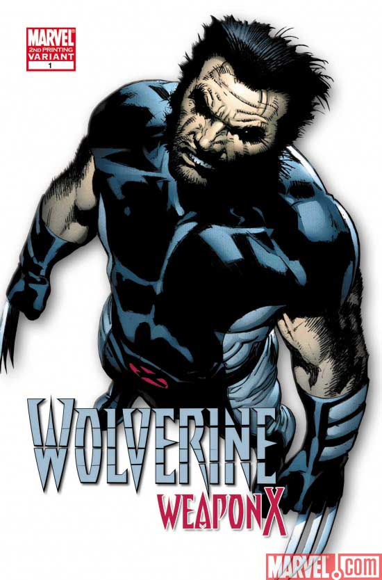 Wolverine: Weapon X #1-5 (Cover) - Page 3 Wolverineweaponx1