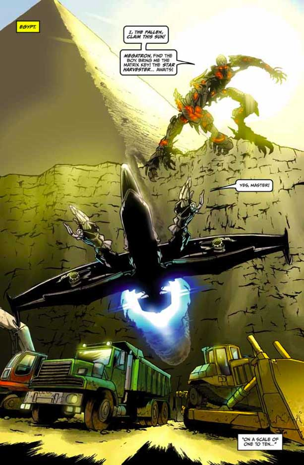 Preview Transformers Revenge Of The Fallen Comic Adaptation #4 Transformersrevenge41