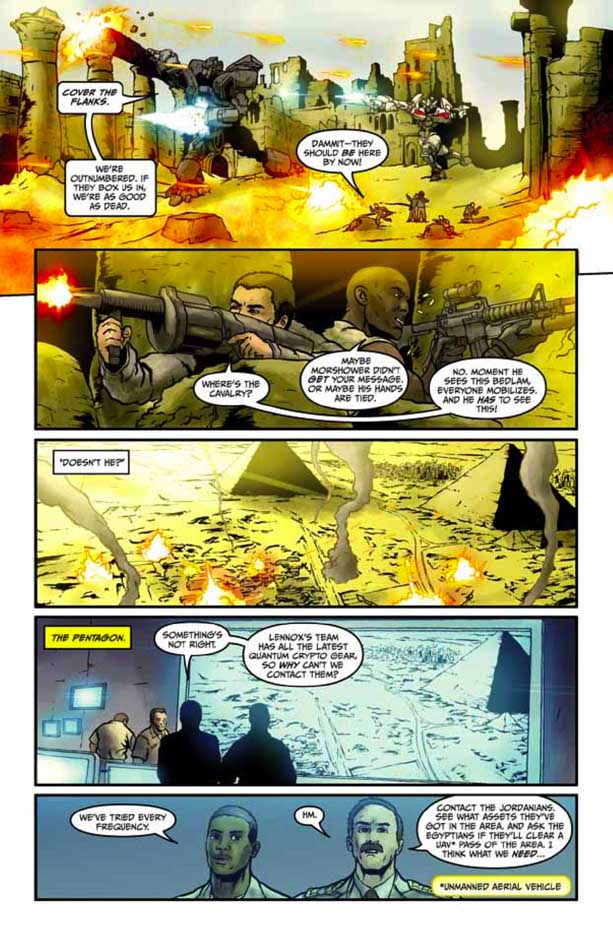Preview Transformers Revenge Of The Fallen Comic Adaptation #4 Transformersrevenge44