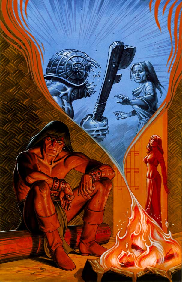 Conan The Cimmerian, Solomon Kane et Kull [Dark Horse] Conan14