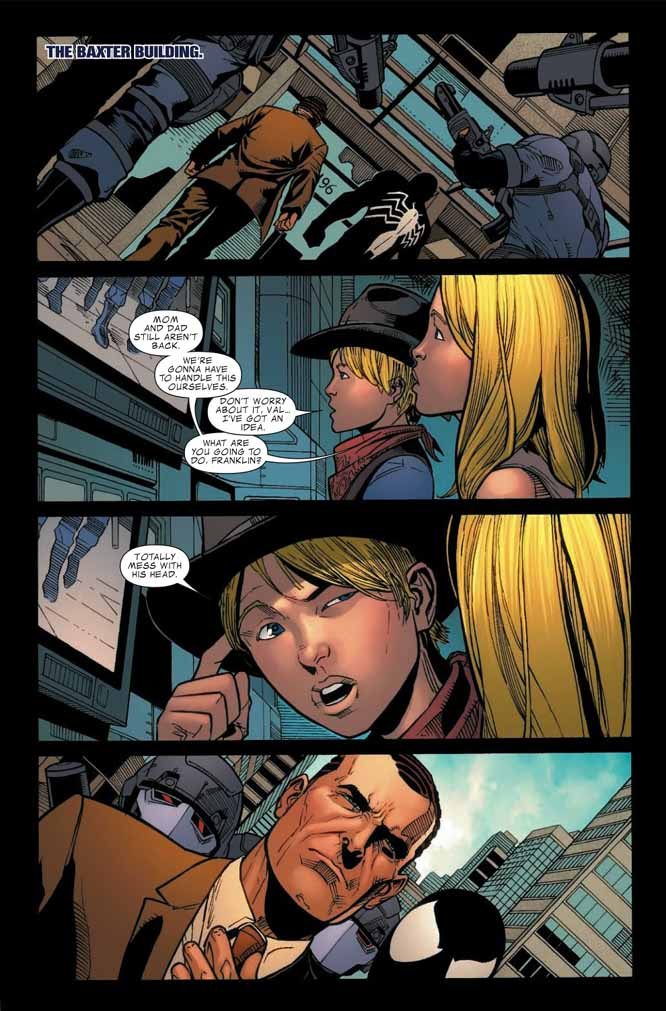 Dark Reign : Fantastic Four # 4 (of 4) (preview) Darkff42