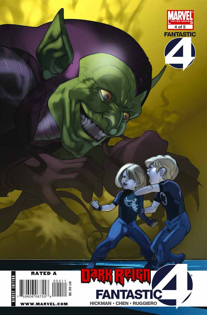 Dark Reign : Fantastic Four # 4 (of 4) (preview) Darkff4c
