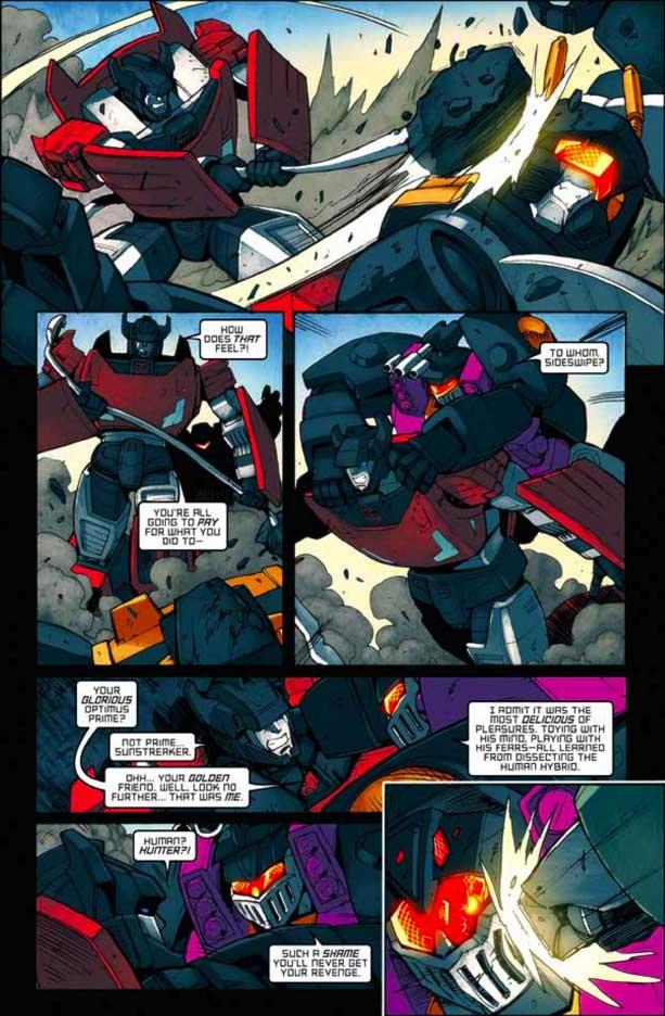 ¡Transformers por todos lados! Transformersmegatron121