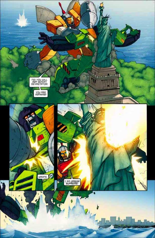 ¡Transformers por todos lados! Transformersmegatron123