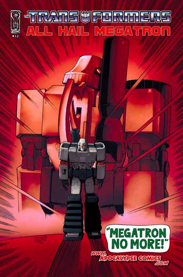 ¡Transformers por todos lados! Transformersmegatron12c