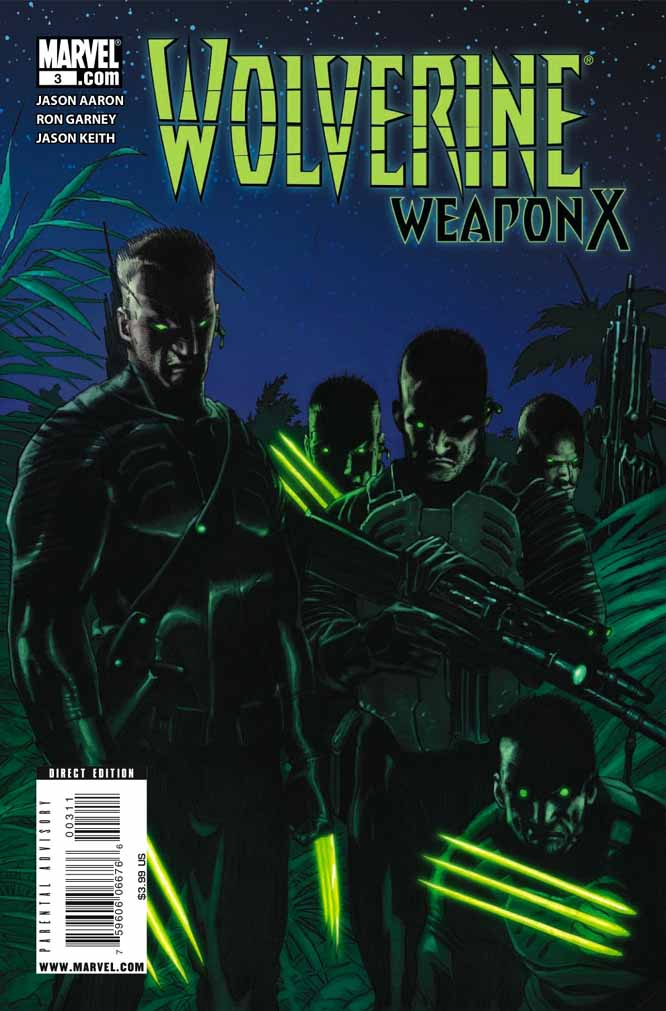 Wolverine: Weapon X #1-5 (Cover) - Page 3 Wolverineweaponx3a