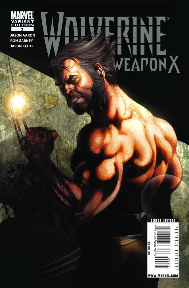 Wolverine: Weapon X #1-5 (Cover) - Page 3 Wolverineweaponx3b