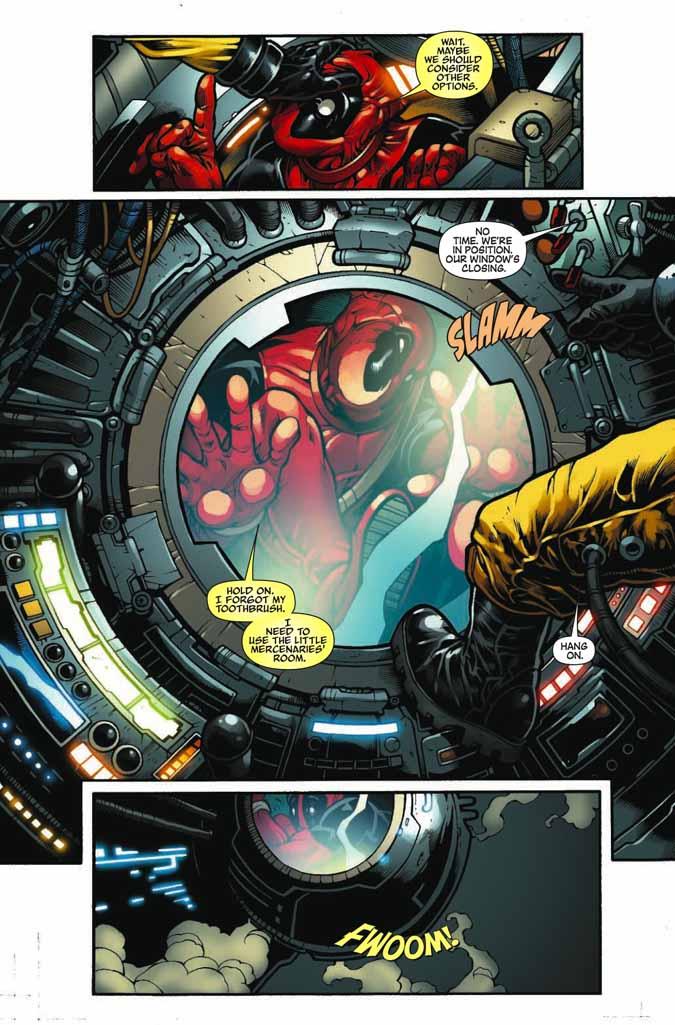 ¿Qué es más irritante que Deadpool? ¡Un Deadpool con 2 bocas! Deadpoolmerc11