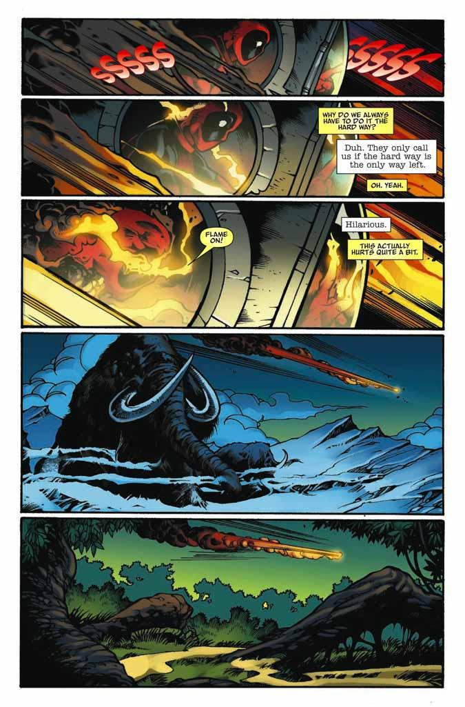 ¿Qué es más irritante que Deadpool? ¡Un Deadpool con 2 bocas! Deadpoolmerc13