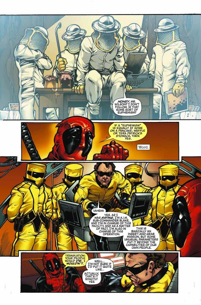 ¿Qué es más irritante que Deadpool? ¡Un Deadpool con 2 bocas! Deadpoolmerc17