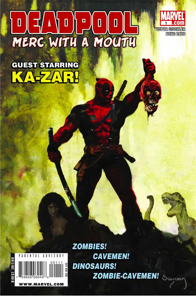 ¿Qué es más irritante que Deadpool? ¡Un Deadpool con 2 bocas! Deadpoolmerc1c