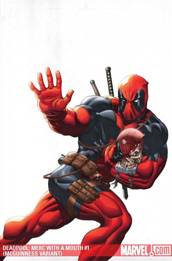¿Qué es más irritante que Deadpool? ¡Un Deadpool con 2 bocas! Deadpoolmerc1variant