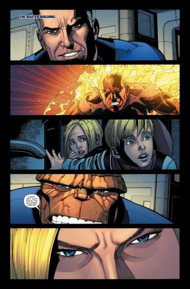 Dark Reign : Fantastic Four # 5 (of 5) (preview) Darkff52