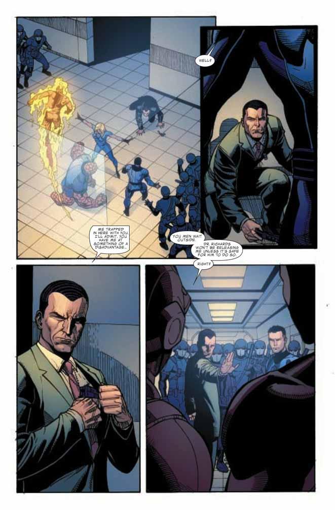 Dark Reign : Fantastic Four # 5 (of 5) (preview) Darkff57