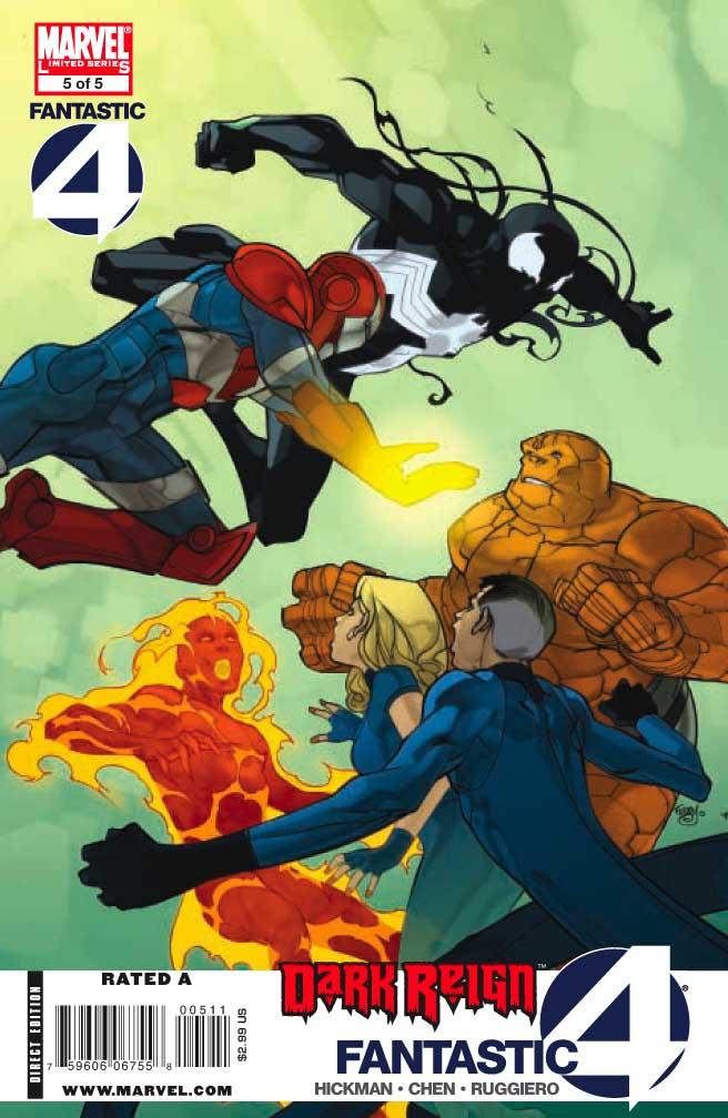 Dark Reign : Fantastic Four # 5 (of 5) (preview) Darkff5c