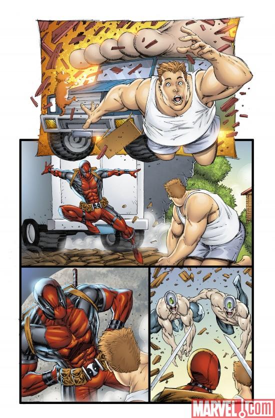 Novecientas veces Rob Deadpool9003