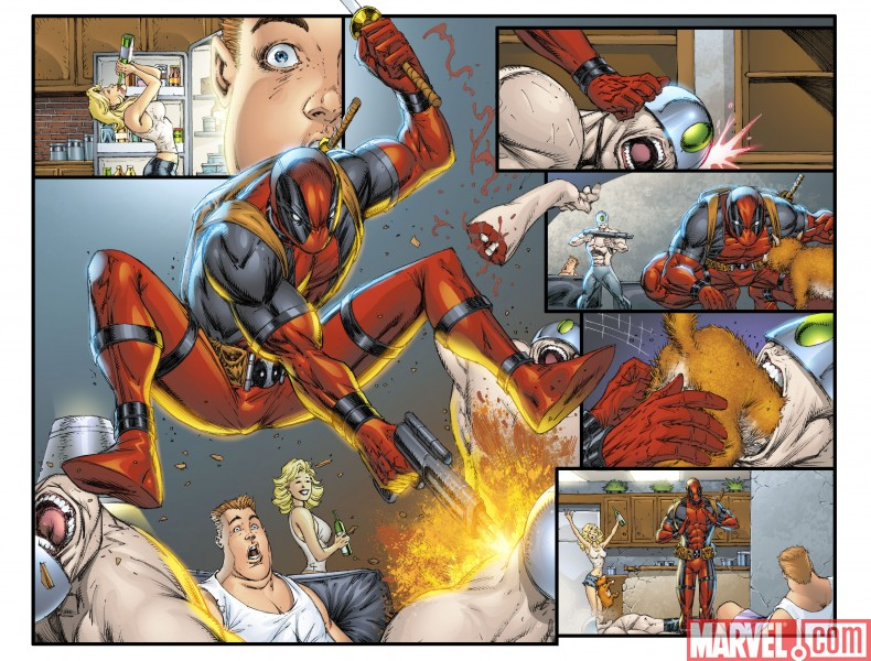 Novecientas veces Rob Deadpool9006