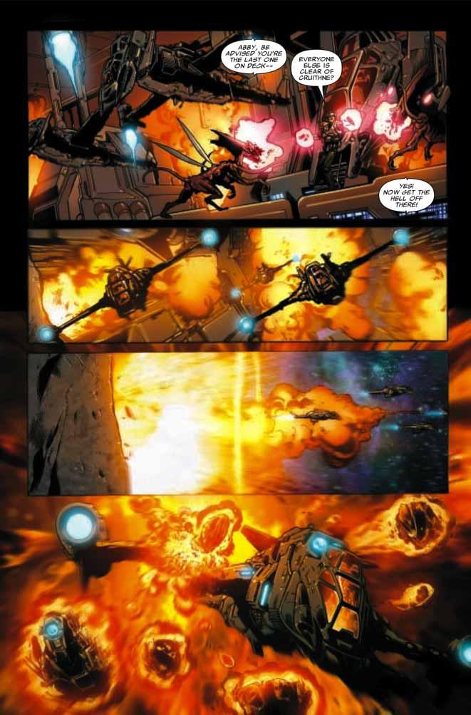 Una mano mutante para una nave dañada Astonishing315
