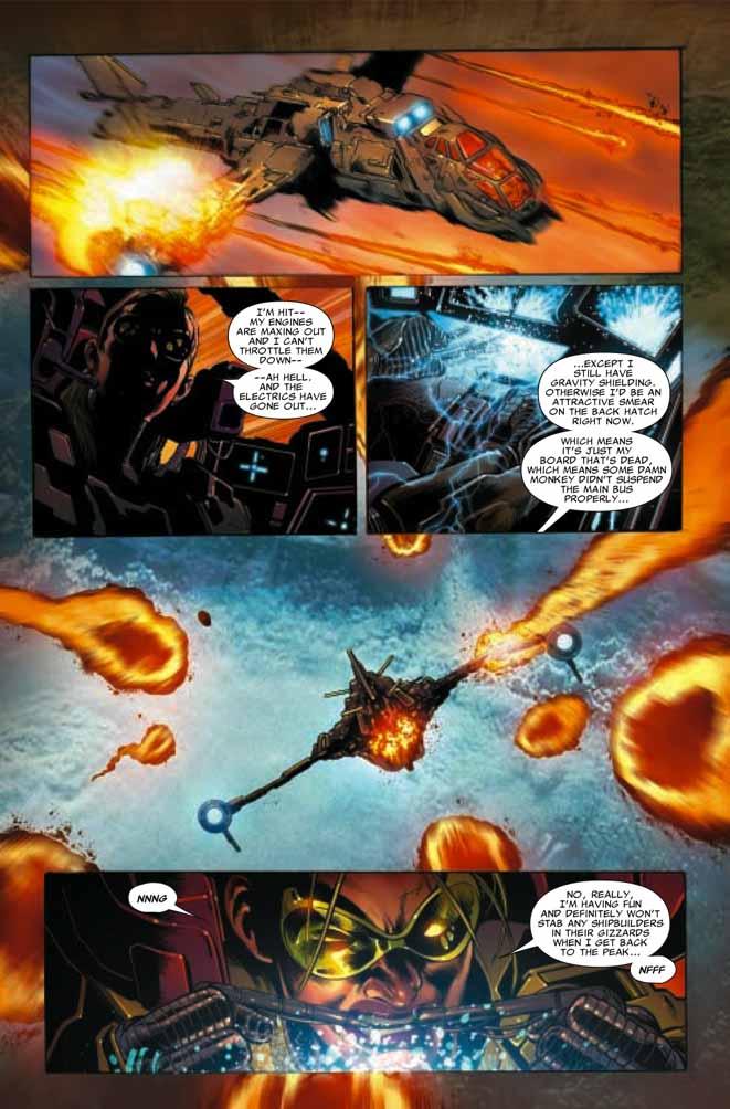 Una mano mutante para una nave dañada Astonishing316